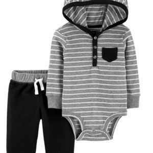 Carters Baby Boys 12M  Hooded Bodysuit with Ears